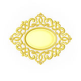 The gold ornate Royalty Free Stock Image