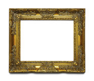 Gold Ornate Frame Stock Images