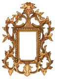 Gold Ornate Picture Frame Royalty Free Stock Photography