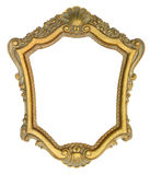 Gold Ornate Picture Frame Stock Images