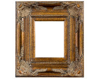Gold Ornate Picture Frame Stock Photo