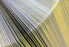 Gold Pages Abstract Royalty Free Stock Images