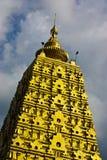 Gold pagoda Royalty Free Stock Images