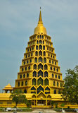 Gold pagoda Stock Image