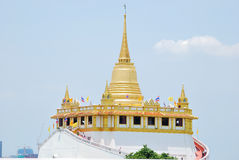 The gold pagoda Stock Photo