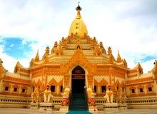 Gold pagoda Royalty Free Stock Photo