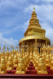 Gold pagoda Stock Image