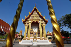Gold pagoda Stock Photography