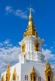 Gold pagoda in Thailand Royalty Free Stock Image