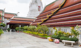 Gold pagoda under sky Stock Photo