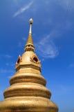 Gold pagoda. At Wattangsai temple in Bangsaphan idistrict of Prachuap Khiri Khan Province, Thailand Stock Photo