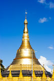 Gold Pagodas, Shrines, Royalty Free Stock Images