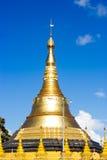 Gold Pagodas, Shrines,. And Statues at the Buddhist Shwedagon Paya in Yangon, Myanmar ( Burma Royalty Free Stock Images