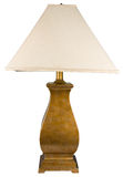 Gold Painted Table Lamp Stock Photos