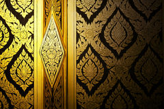 Gold Painting Royalty Free Stock Photography