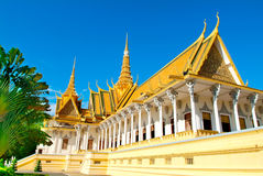 Gold Palace Royalty Free Stock Photos