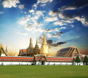 Gold Palace Royalty Free Stock Images
