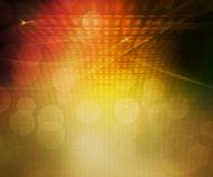 Gold Party Abstract Background Royalty Free Stock Photography