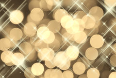 Gold Party background Stock Images