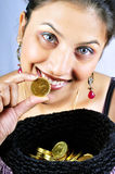 Gold passion Stock Photo