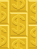Gold pattern Stock Image