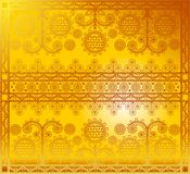 Gold pattern Royalty Free Stock Image