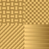 Gold pattern Stock Photography