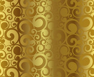 Gold pattern. Abstract gold pattern (vector background Royalty Free Stock Image