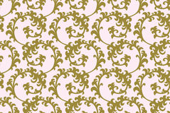 Gold pattern background Stock Photography