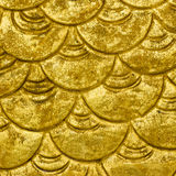 Gold pattern background Royalty Free Stock Images