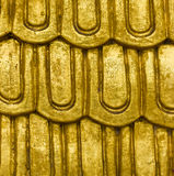Gold pattern background. Stock Photo