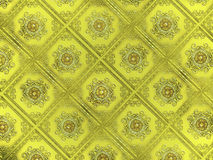 Gold Pattern Background Stock Image