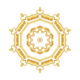 Gold pattern for the cards,  invitations, book page decoration Royalty Free Stock Photos
