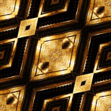 Gold pattern Stock Photo