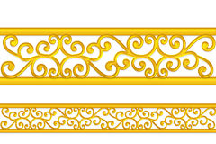 Gold pattern Royalty Free Stock Photo