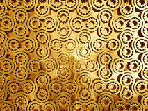 Gold pattern Royalty Free Stock Photography