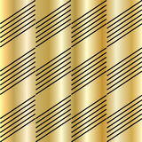 Gold pattern. Gold texture pattern. Vector file with layers. Gold and black diagonal lines. For art, print, web, holiday background, fabric texture design Royalty Free Stock Photos