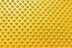 Gold pattern on wall Stock Photo