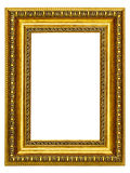 Gold-patterned frame for a picture Royalty Free Stock Photography