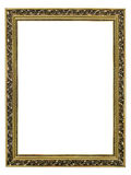 Gold-patterned frame for a picture Royalty Free Stock Photo
