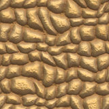 Gold pavement Royalty Free Stock Photography