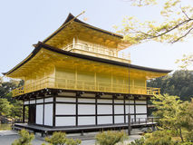 Gold pavilion in Kyoto Royalty Free Stock Photography