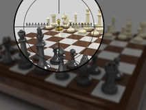 Gold pawn 8 Stock Photography