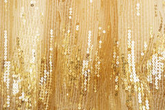 Gold peach lace background Stock Image