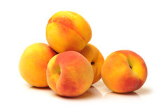 Gold Peach royalty free stock photos