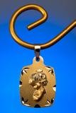 Gold Pendant Stock Image