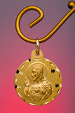 Gold Pendant Stock Photo