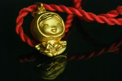 Gold Pendant Stock Images