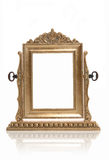 Gold Photo Frame Stock Image
