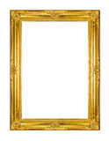 Gold photo frame Stock Images